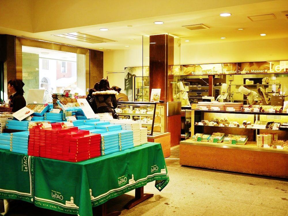 笑顔溢れる「小樽洋菓子舗ルタオ(LeTAO)本店」で美味しいお土産を