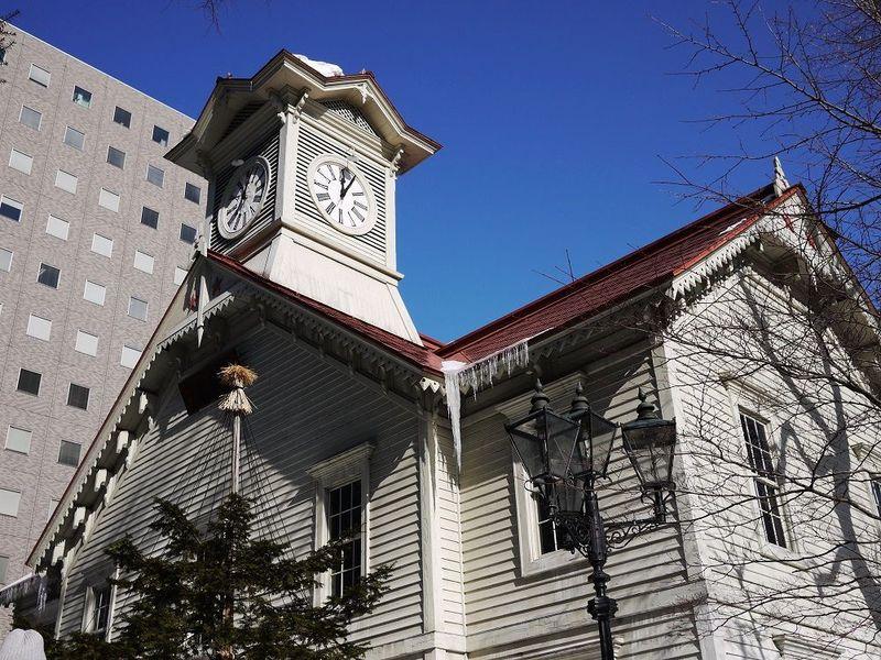 「札幌市時計台」撮影定番スポットから撮る美しき時計台