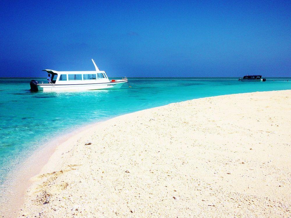 久米島観光で絶対外せない絶景スポット!東洋一美しい島「はての浜」