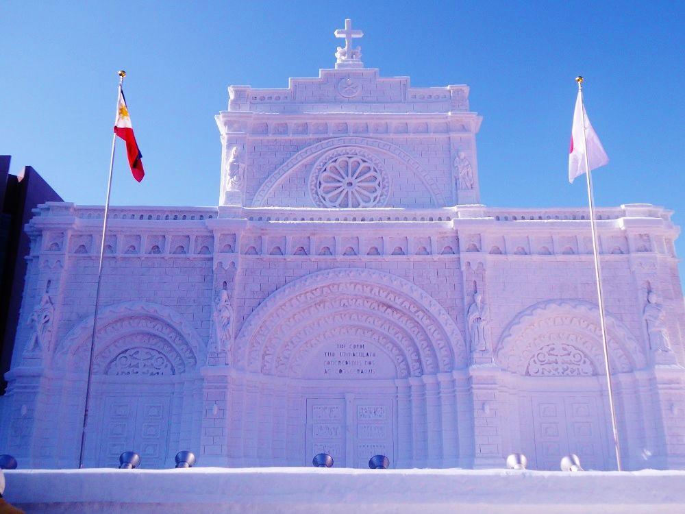 厳寒期の大通公園「さっぽろ雪まつり」で大雪像を見よう!