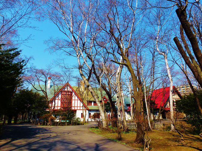 メルヘンな外観がかわいい「北海道知事公館」