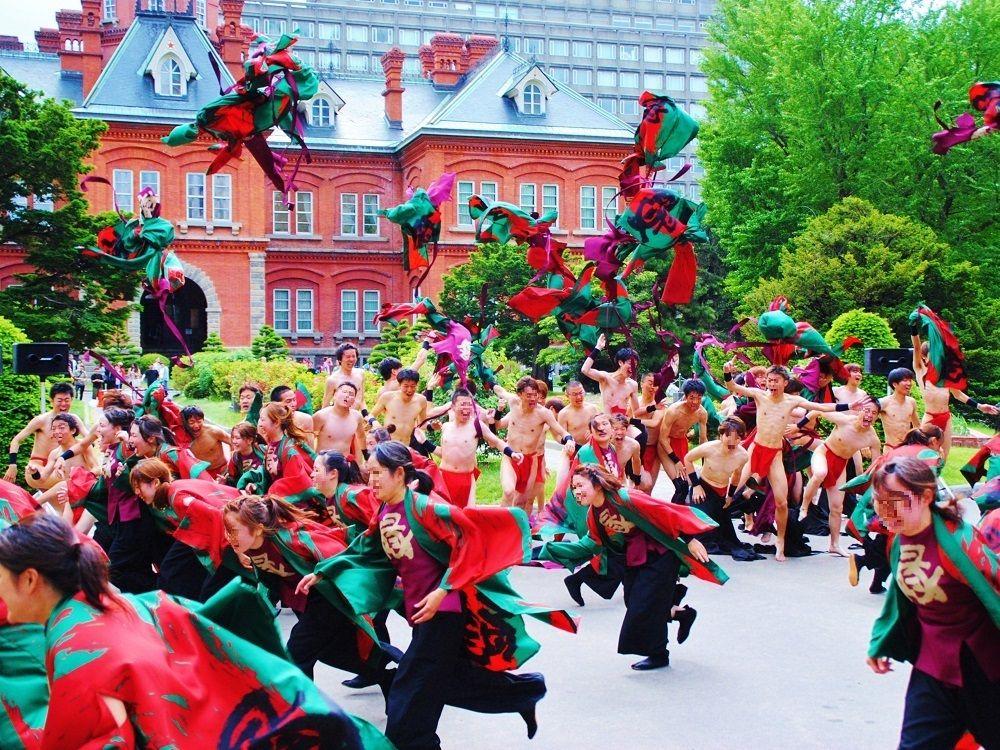「YOSAKOIソーラン祭り」と札幌観光を一緒に楽しむ