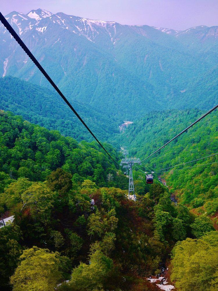 「谷川岳ロープウェイ」で絶景空中散歩!
