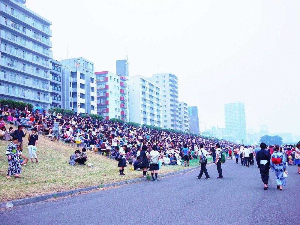 「豊平川 花火大会」を特等席で見るなら早めの会場入りを!