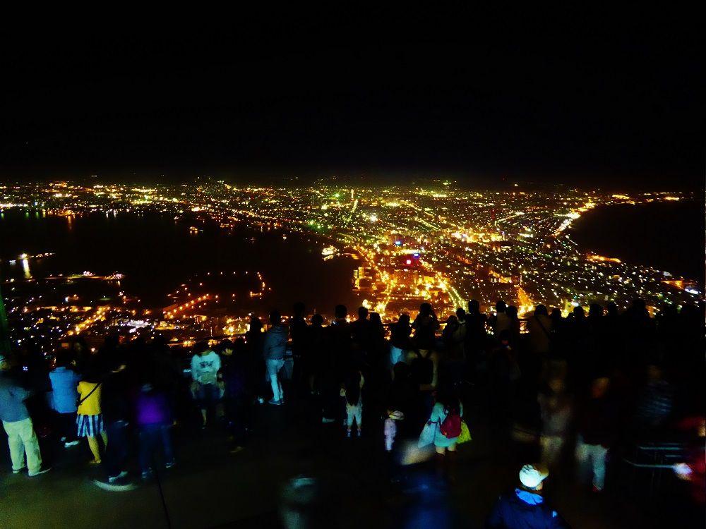 「函館山展望台」の一番高いところから絶景夜景を眺めよう!