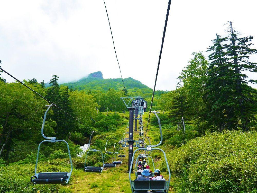 大雪山「黒岳」登山スタートはロープウェイ&リフトで一気に7合目へ