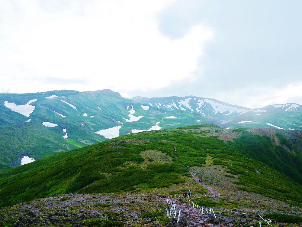 「黒岳」山頂の展望は感動の絶景!