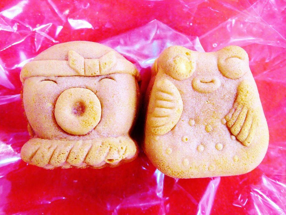 タコとフグがかわいい日間賀島スイーツ「多幸福まんじゅう」