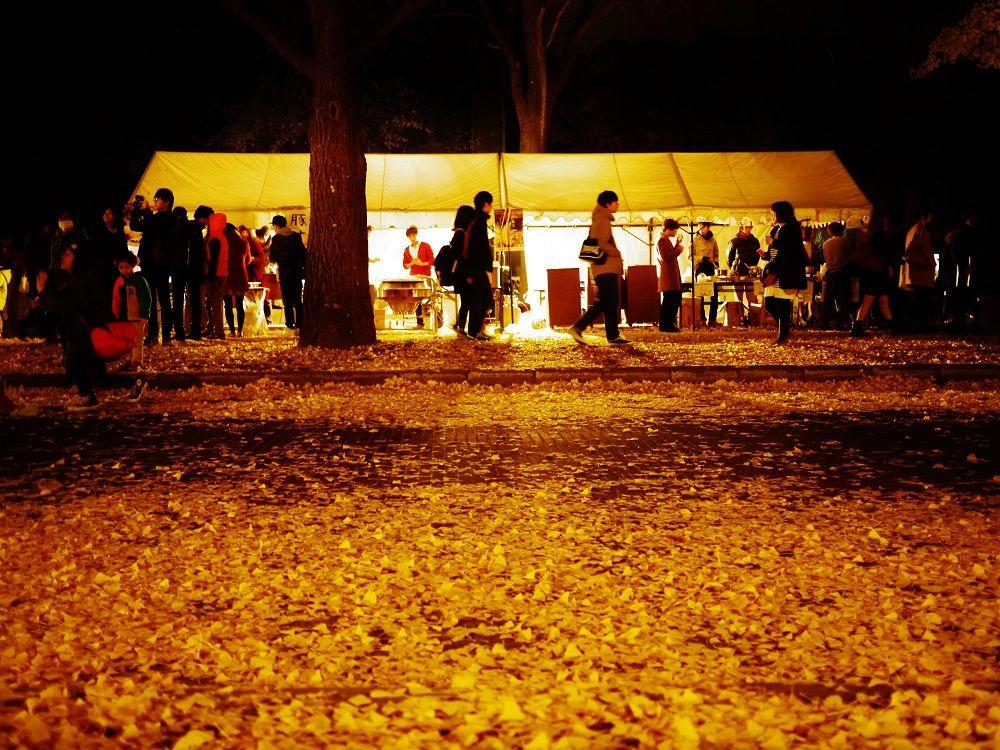 「北大金葉祭」開催中は露店やイベントも!