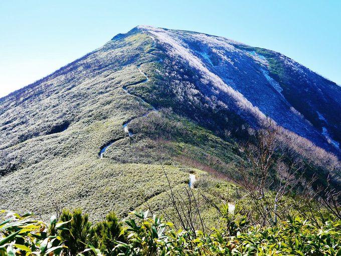「余市岳」の登山道を歩く