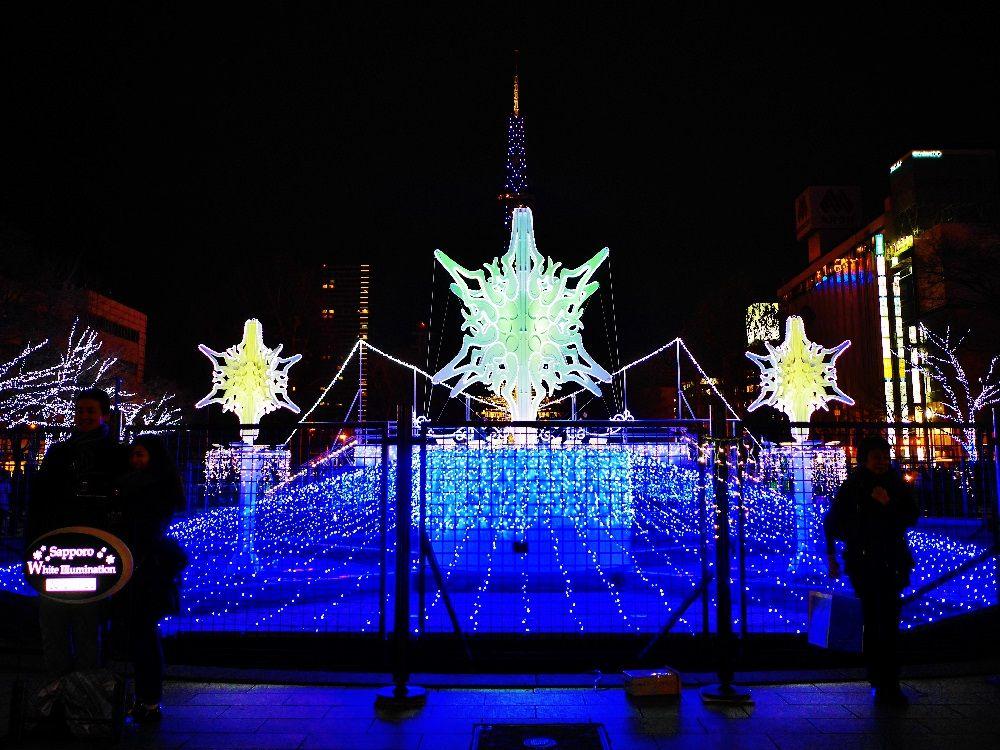 冬の札幌といえば「さっぽろホワイトイルミネーション」