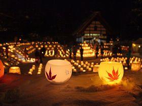札幌の奥座敷を彩る心温まる幻想的な光「定山渓温泉雪灯路」