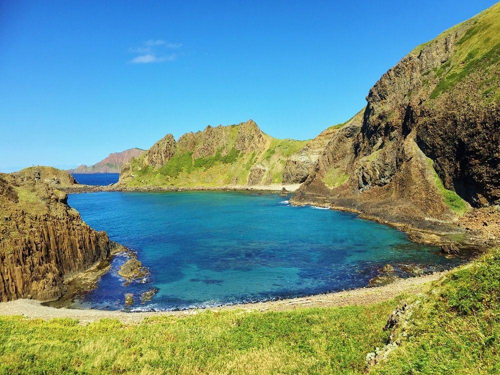礼文島一の景勝地!コバルトブルーの海が美しい「澄海岬」