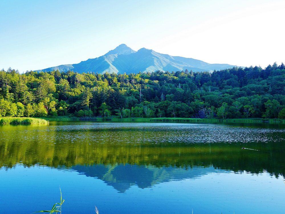 利尻島で一番美しい「逆さ利尻富士」に会える場所