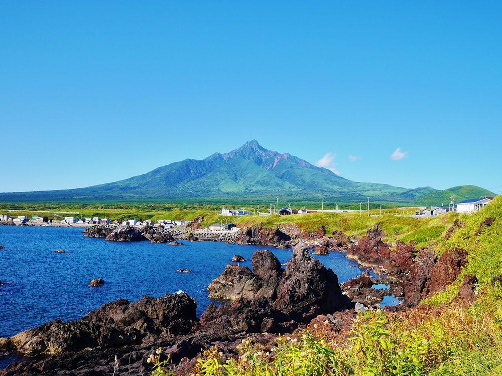 利尻島の最南端に広がる絶景ポイント!