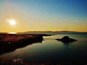 利尻島で一番美しいサンセットスポット「夕日ヶ丘展望台」
