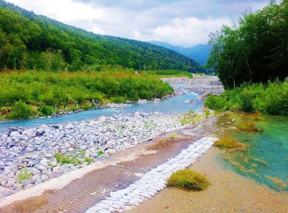 青い池でも美瑛川の流れに注目!