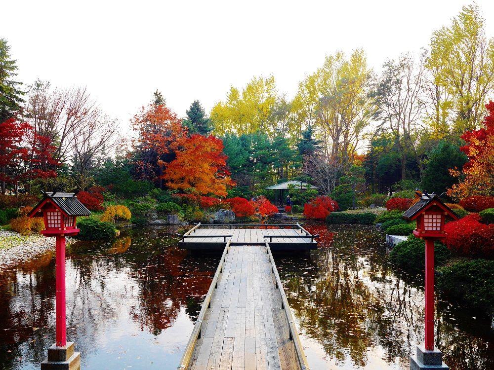 世界の庭園で紅葉観賞!秋も美しい札幌市「百合が原公園」
