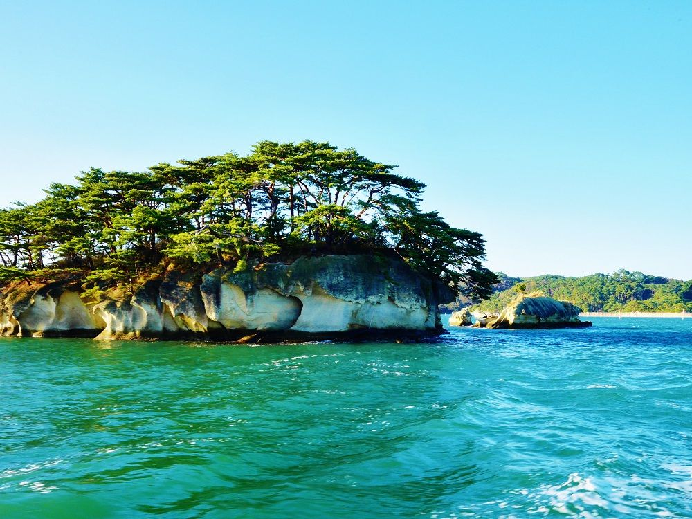 1.松島湾(松島島巡り観光船)