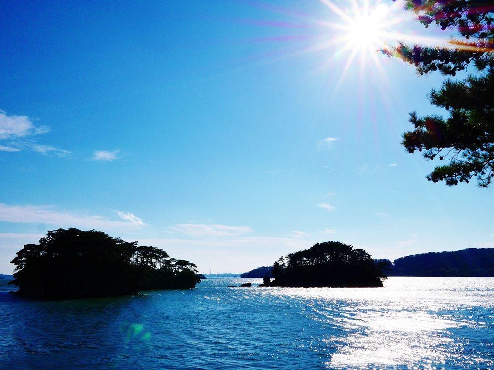見晴台から眺める日本三景「松島」の絶景!