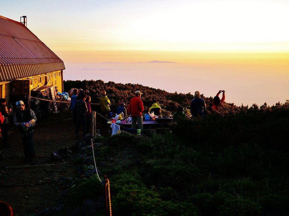 避難小屋(羊蹄小屋)の利用方法と絶景サンセットタイム