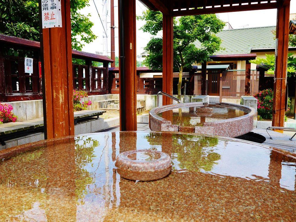 9.鶴のあし湯広場