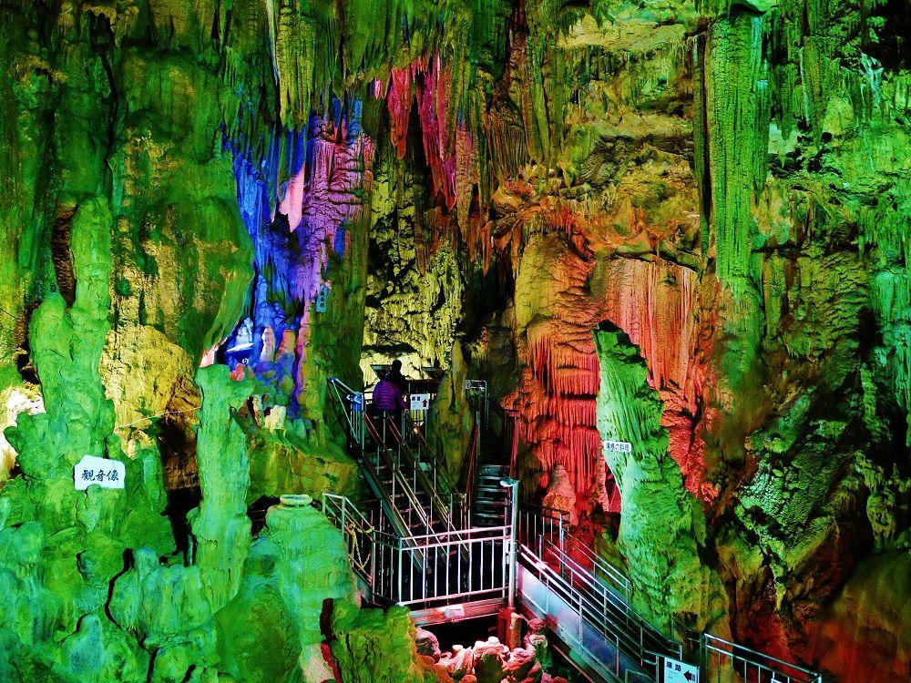 大自然が織り成す幻想美に感動!福島県田村市「あぶくま洞」探検