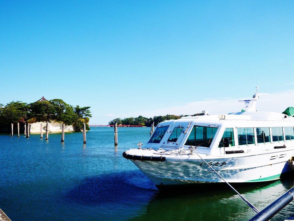 絶景観光の出発地は「松島海岸レストハウス」