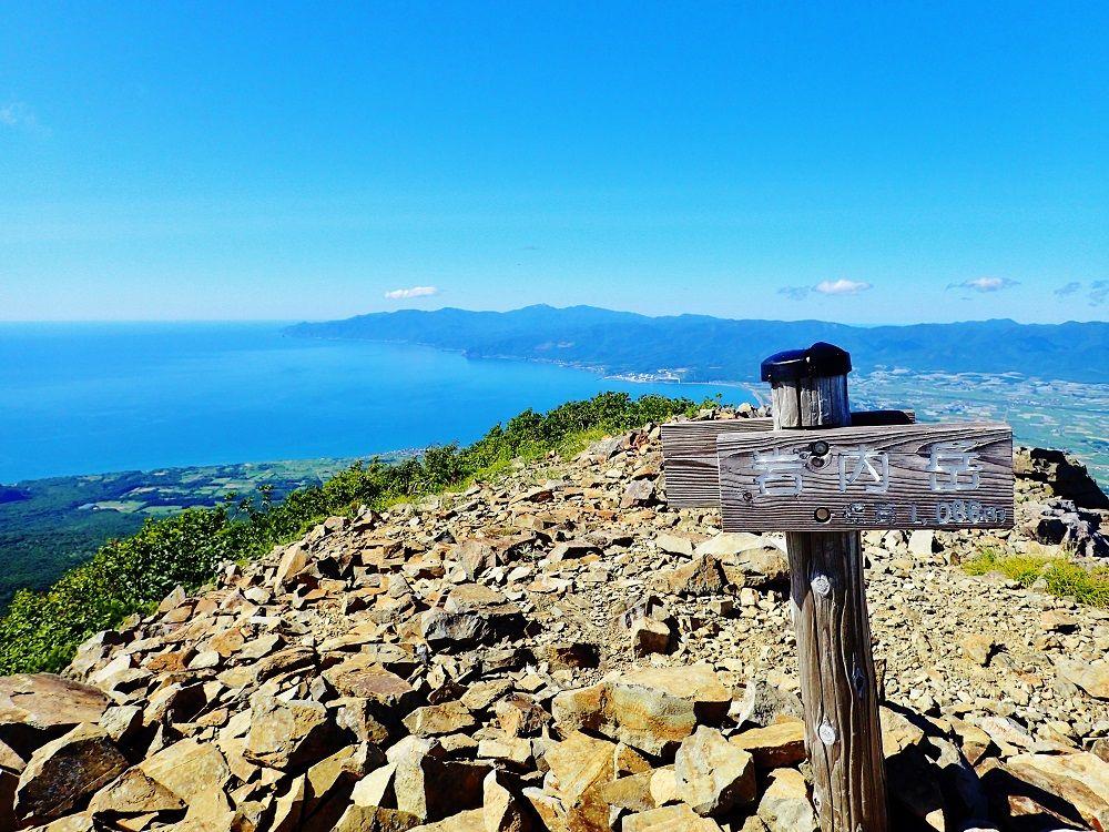 山頂からの風景もお楽しみ!岩内岳へ