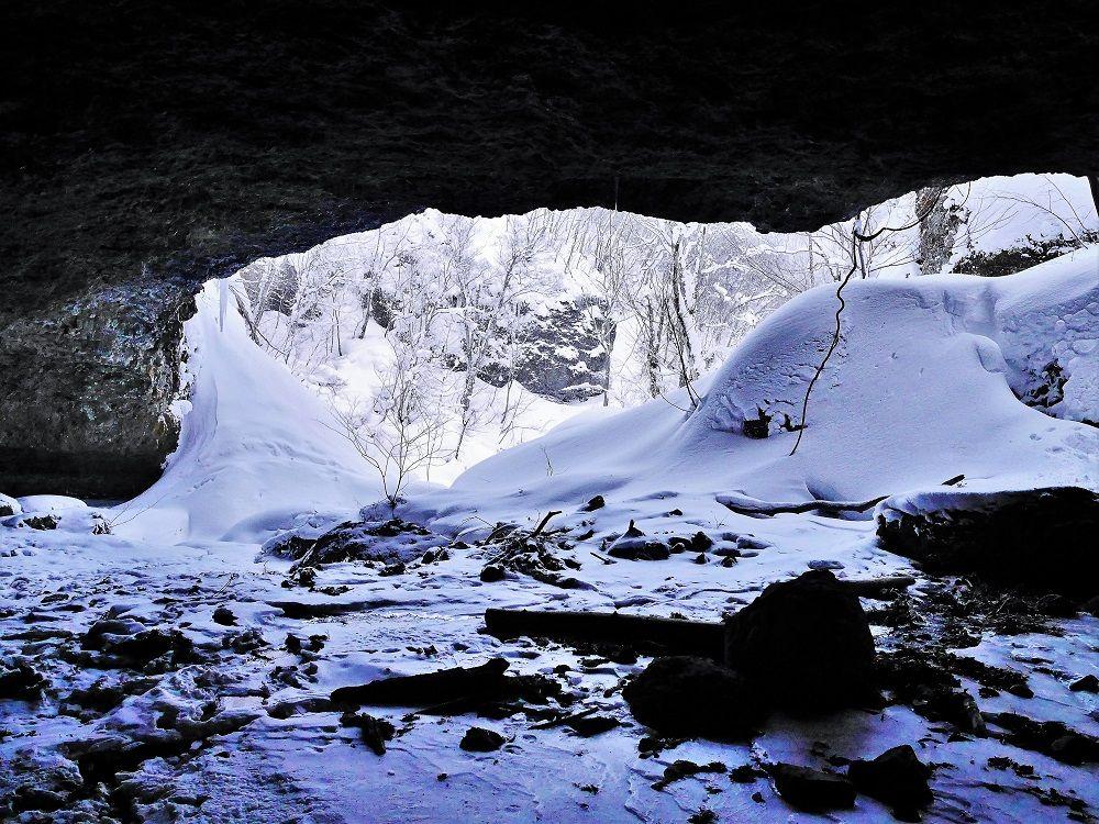 穴滝までの道程と注意事項