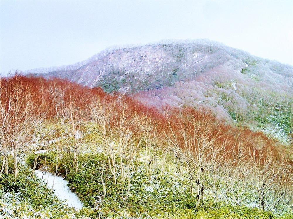 室蘭岳登山について