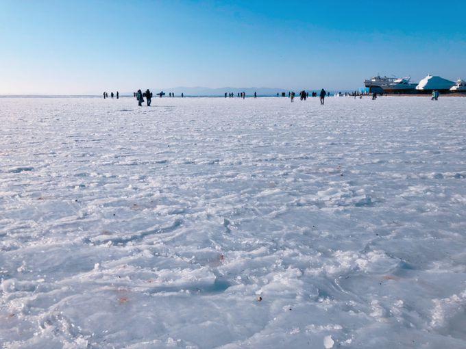 ロシアの大自然を感じるスポーツ湾