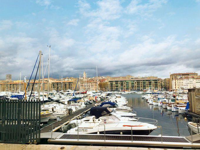 フランス最古の港「マルセイユ旧港」