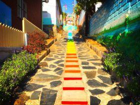 まるでテーマパーク!?韓国仁川のメルヘンスポット「松月洞童話村」
