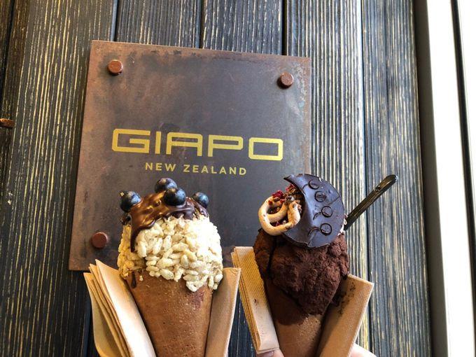 行列のできるアイスクリーム屋さん「ギアポ」