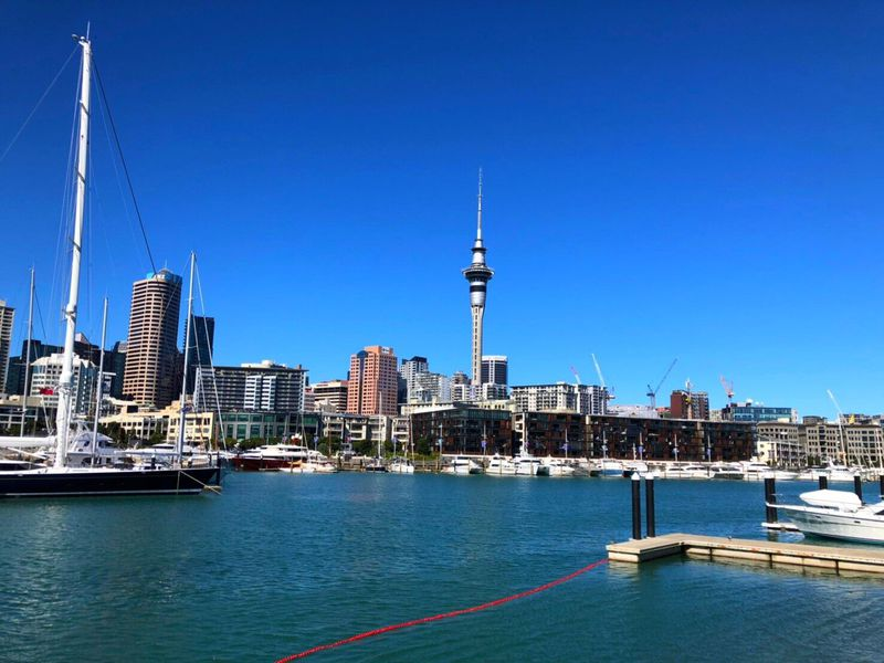 """""""帆の町""""NZオークランドの街歩きが楽しい!"""