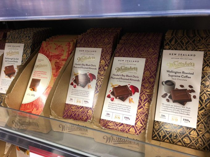 フレーバー多数「Whittaker's(ウィッタカーズ)のチョコレート」