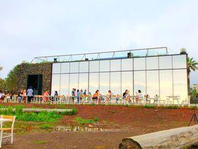 済州島で人気!海が見渡せる有名カフェ「モンサン・ド・エウォル」