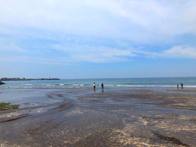 2.サムヤン黒砂ビーチ/済州島