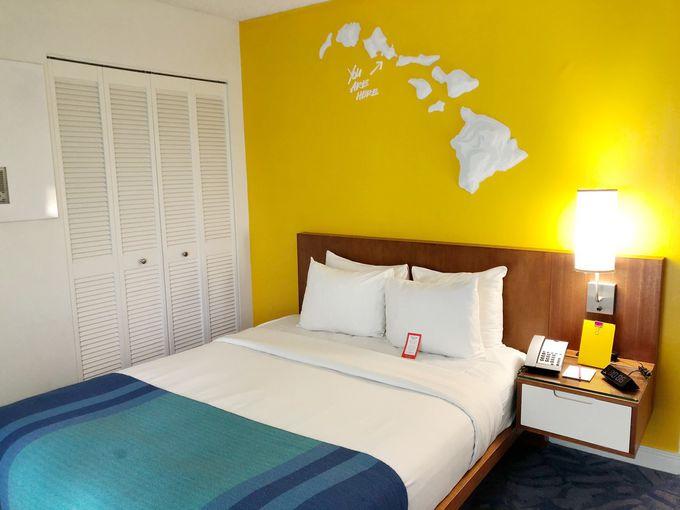 カラフルなホテル…部屋のカラーはお楽しみ!?