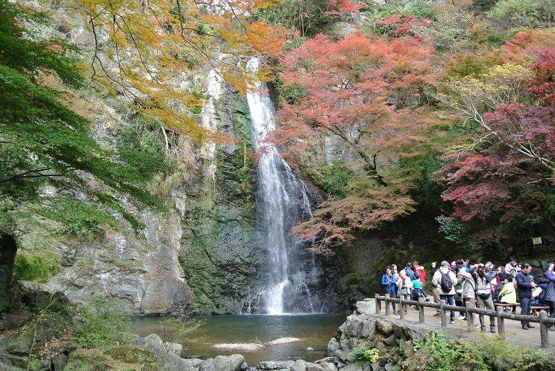 5.箕面の滝