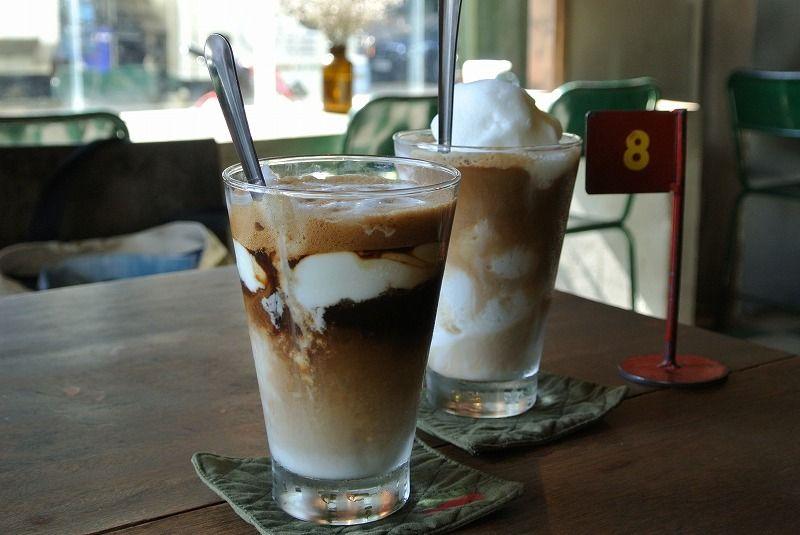 スッキリ爽やか!「コンカフェ」のヨーグルトコーヒー&ココナッツコーヒー