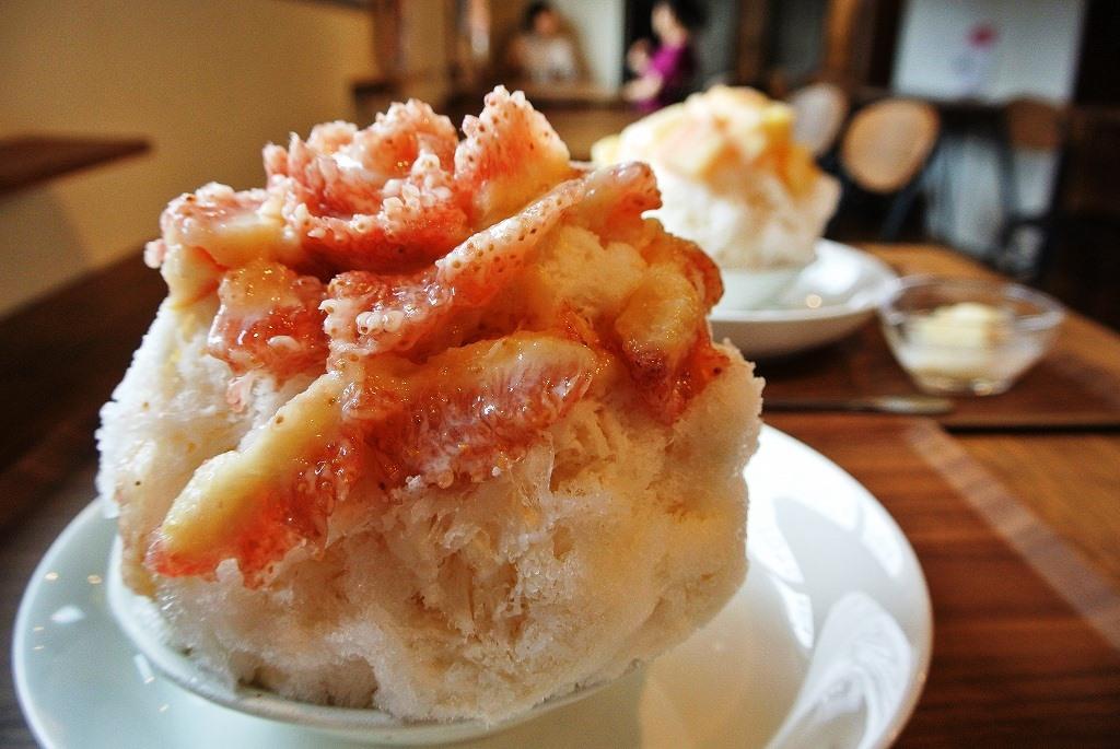 旬のフルーツてんこ盛り!「六華亭」のおすすめかき氷