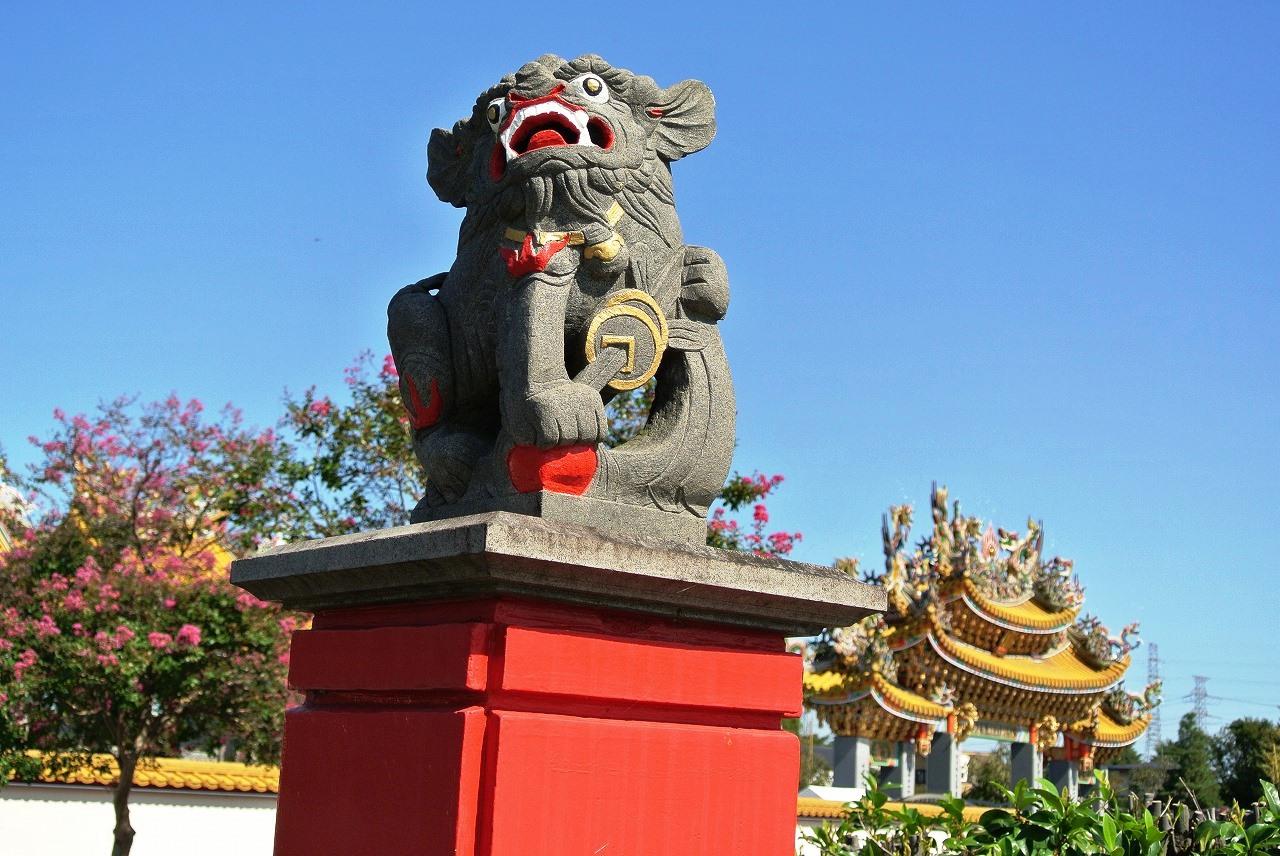 着工から開廟まで15年の道教神社