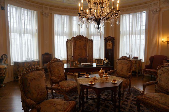 内装や建築が特徴的なお部屋