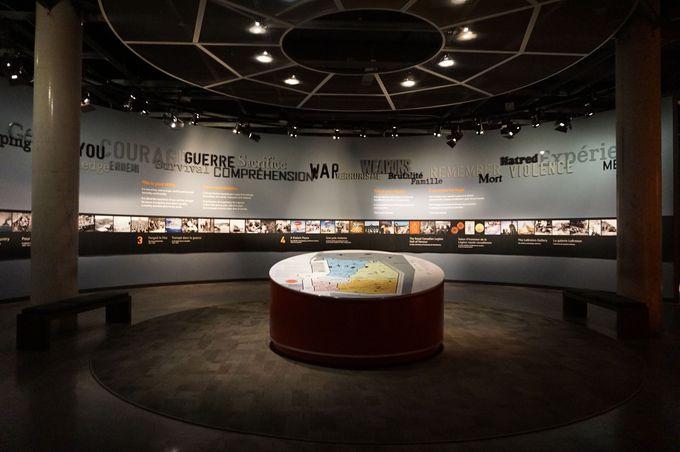 「カナダ戦争博物館」で世界が経験した戦争を知る
