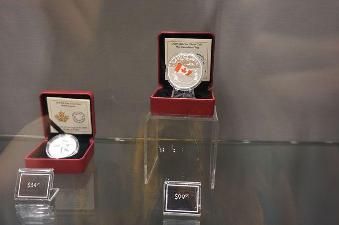 「ロイヤル・カナディアン・ミント」でコインに詳しくなる