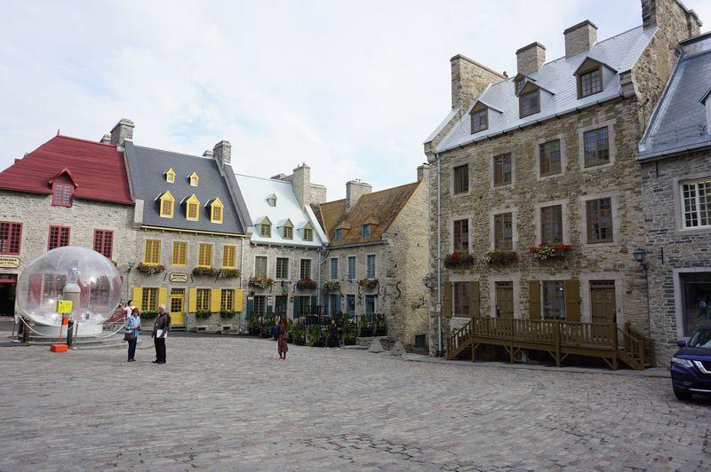 カナダ・ケベックシティのロウワータウンでローカルな歴史を感じる旅