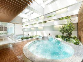 注目のエリア!東京有明で解放感抜群のSPA体験「泉天空の湯 有明ガーデン」