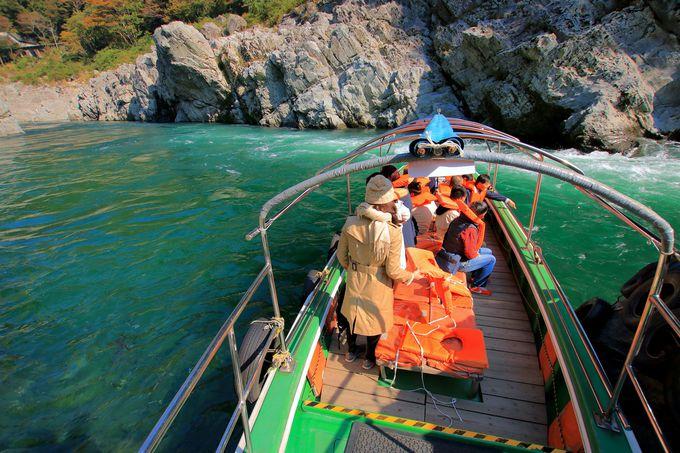 2日目昼:断崖絶壁の渓谷!大歩危小歩危の遊覧船を楽しもう